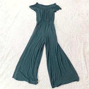 Saturday Sunday turquoise lounge jumpsuit